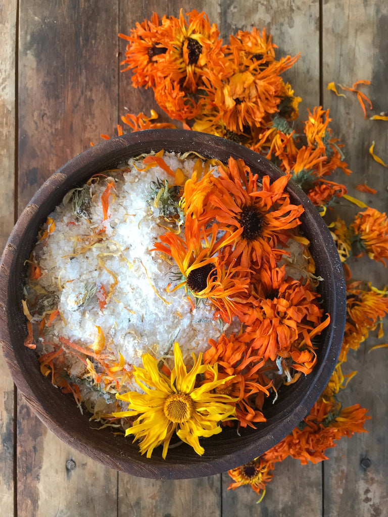 Tree Fox Coconut & Calendula Bath Soak