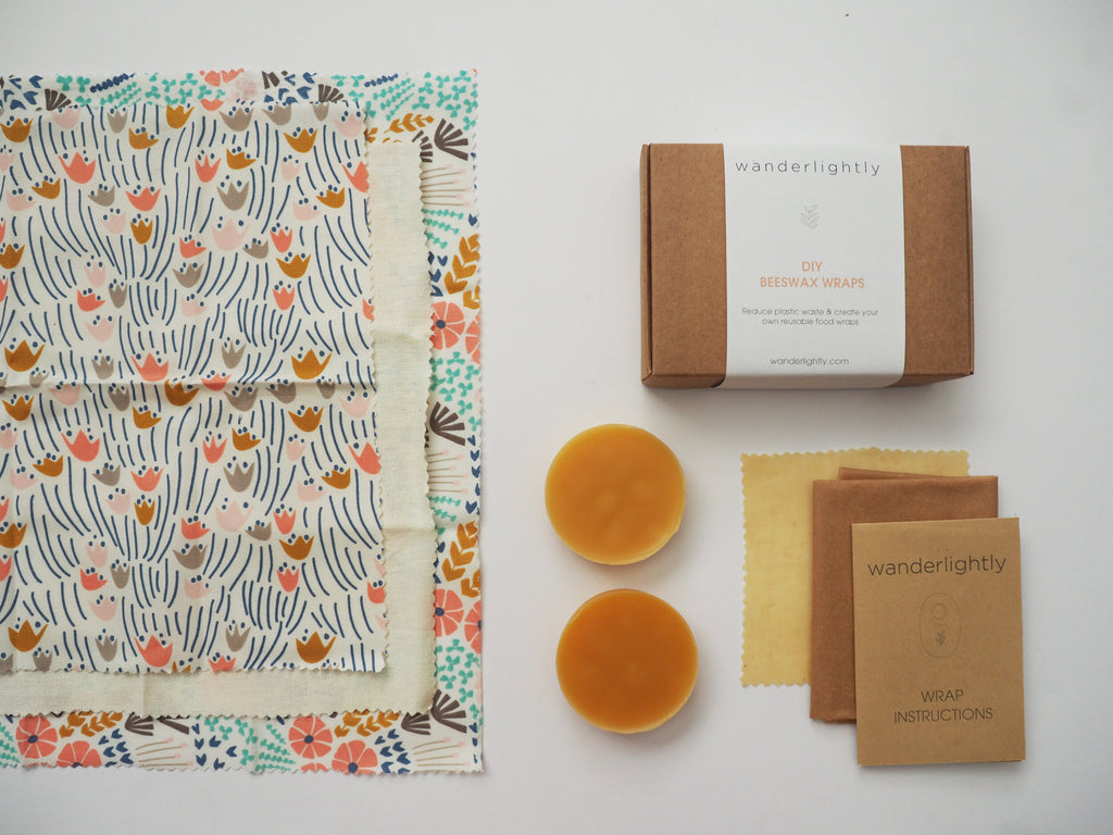 Wanderlightly Beeswax Wrap Kit