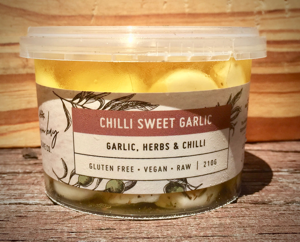 Byron Bay Olive Company Sweet Garlic - Chilli 210g