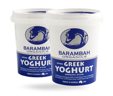 Barambah Greek Yoghurt 500g