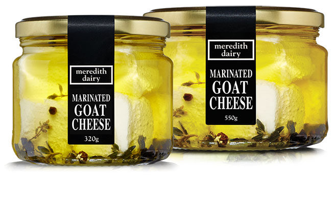 Meredith Valley Marinated Goats Cheese