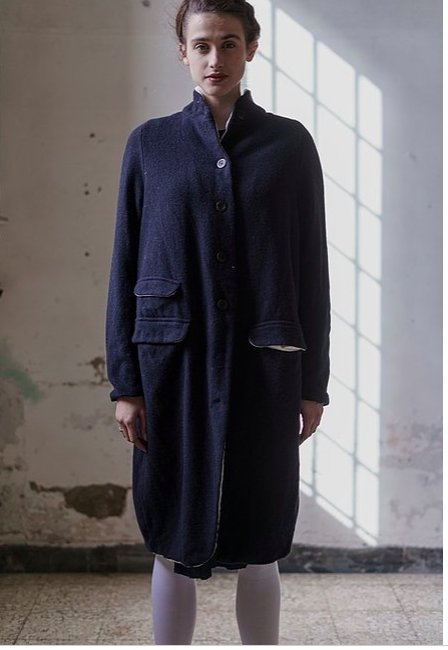 Coat Carine Hannoh Harris Tweed - Marquise de Laborde
