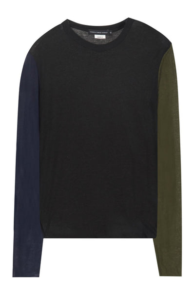 Color Black Wool T-shirt Hidden Forest Market - Marquise de Laborde