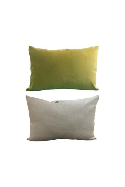 Cushion English Luxury Velvet- Olive