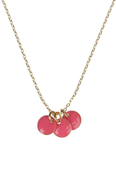Guila Dot Necklace Pink - Marquise de Laborde