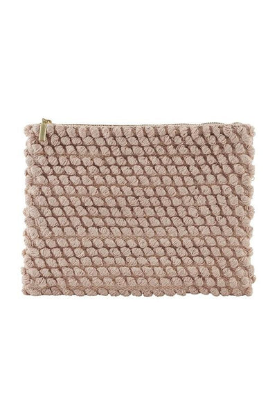 House Docter Clutch /Pochette Large Dusty Rose - Marquise de Laborde