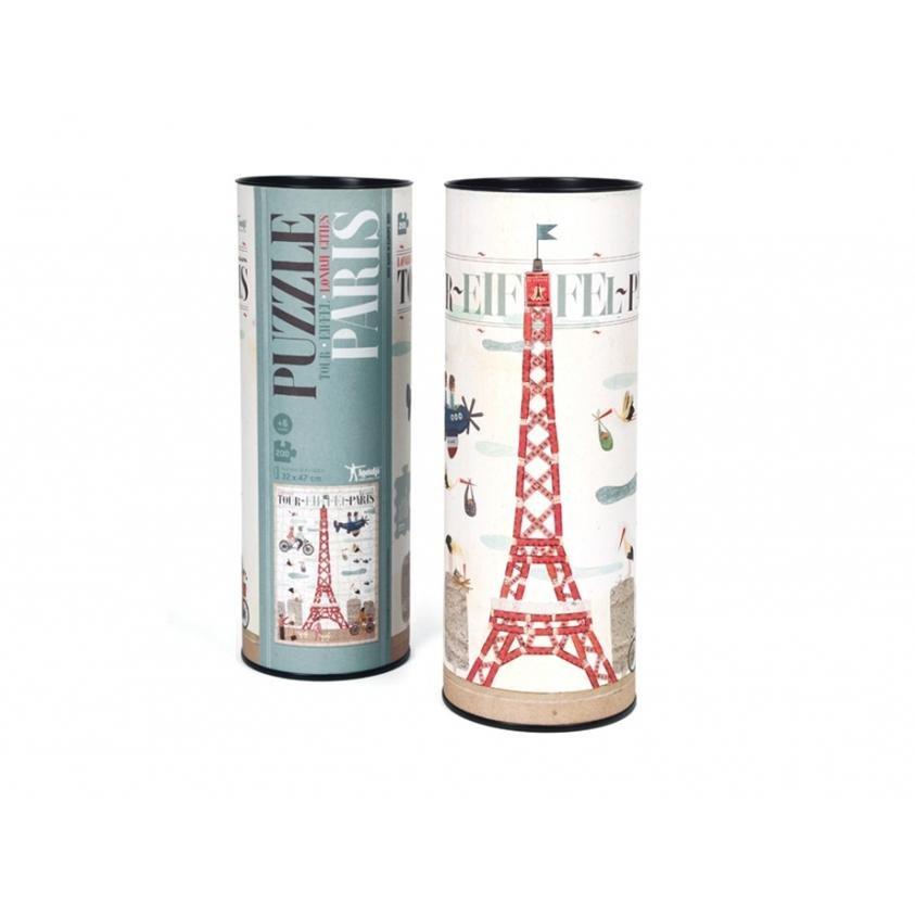 Londji Paris Eiffel Tower Puzzle 200pc - Marquise de Laborde