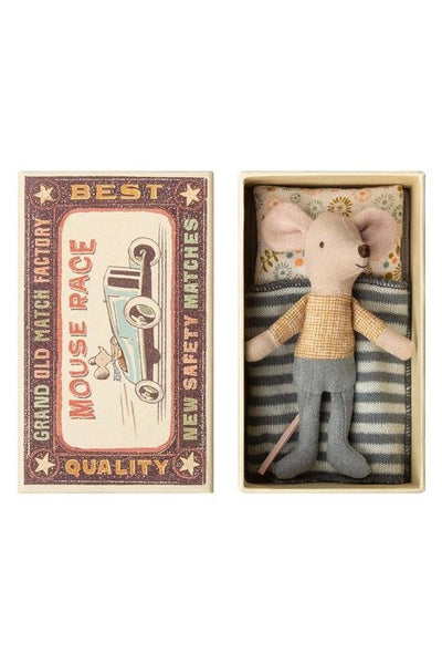 Maileg Little Brother Mouse in Box - Marquise de Laborde