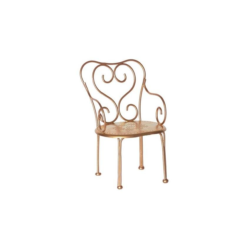 Maileg Vintage Chair - Gold - Marquise de Laborde