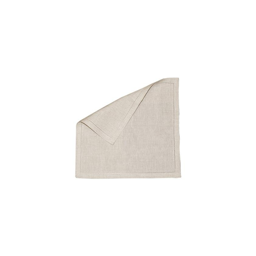Marquise de Laborde Luxury Linen Cocktail Napkin - Natural - Marquise de Laborde