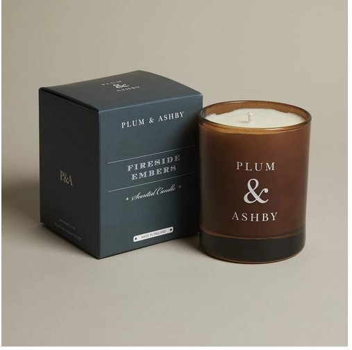 Plum & Ashby Fireside Embers 60 Hour Candle - Marquise de Laborde
