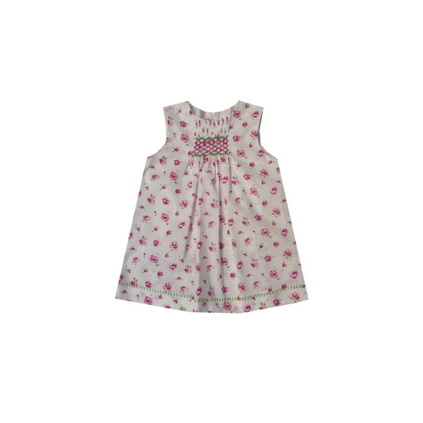 Robe Elodie - Liberty Rosa - Marquise de Laborde
