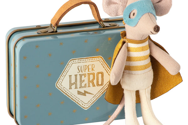 Super Hero Maileg Mouse + Box - Marquise de Laborde