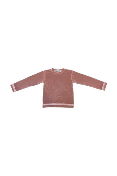 TILLY Sweatshirt  - Antique Rose Velvet - Marquise de Laborde