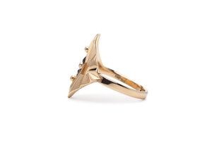 Super Butterfly Gold Ring