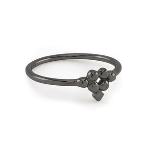 Lady Arrow Black Ring