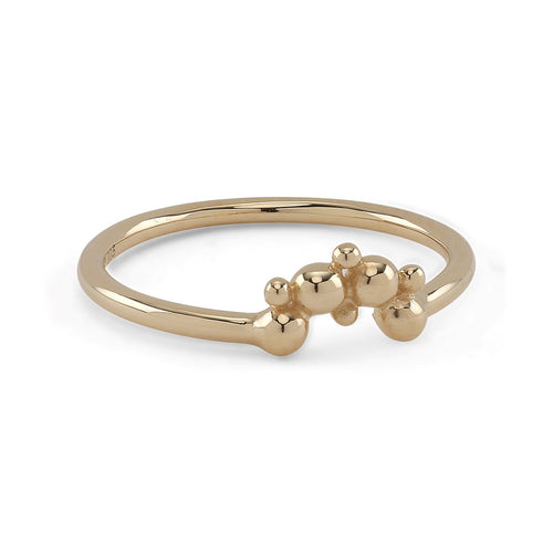 Lady Luck Gold Ring smykker smykke  scandinavian design scandic design ringe ring nordic design guld ring guld halskæde guld gold tiara gold chain Gold (14-karat) gold danish design arrow arabic design guld ring