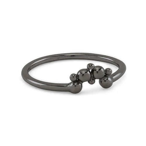 Lady Luck Black Ring
