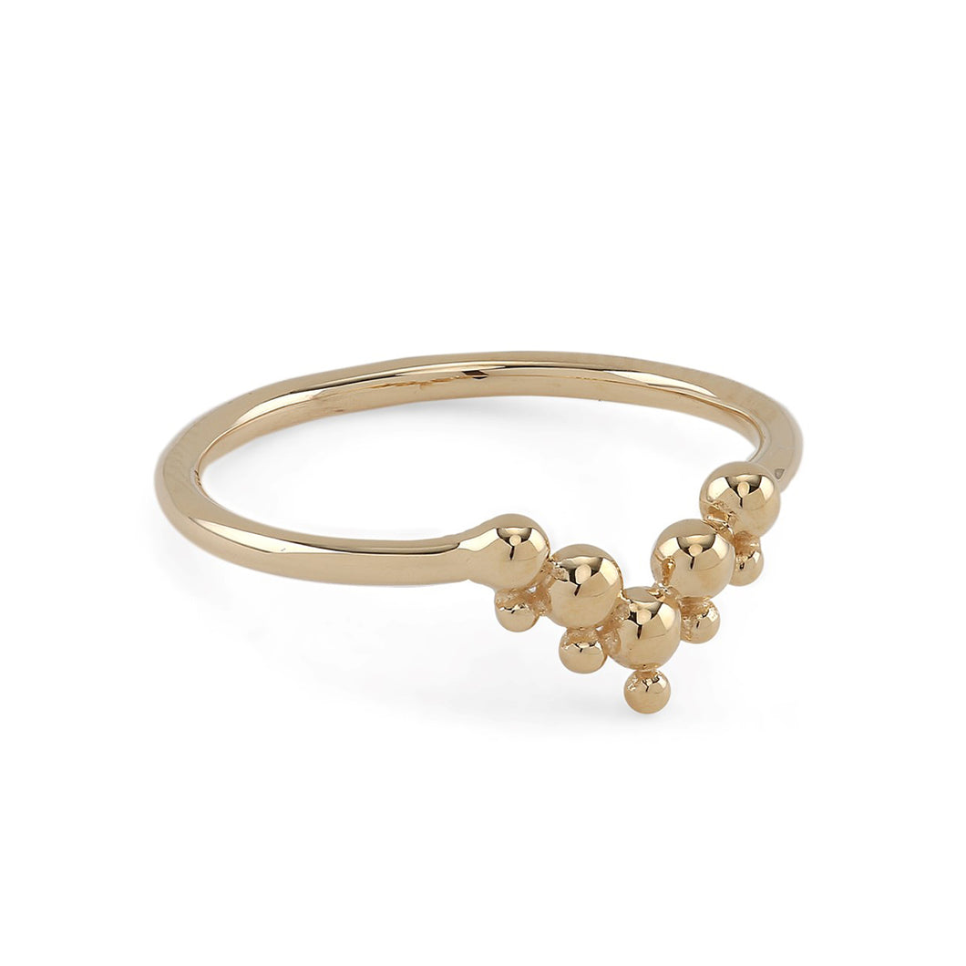 Lady Tiara Gold Ring