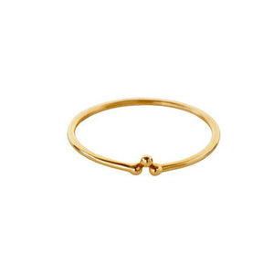 Lady Three Gold Ring (14-karat)