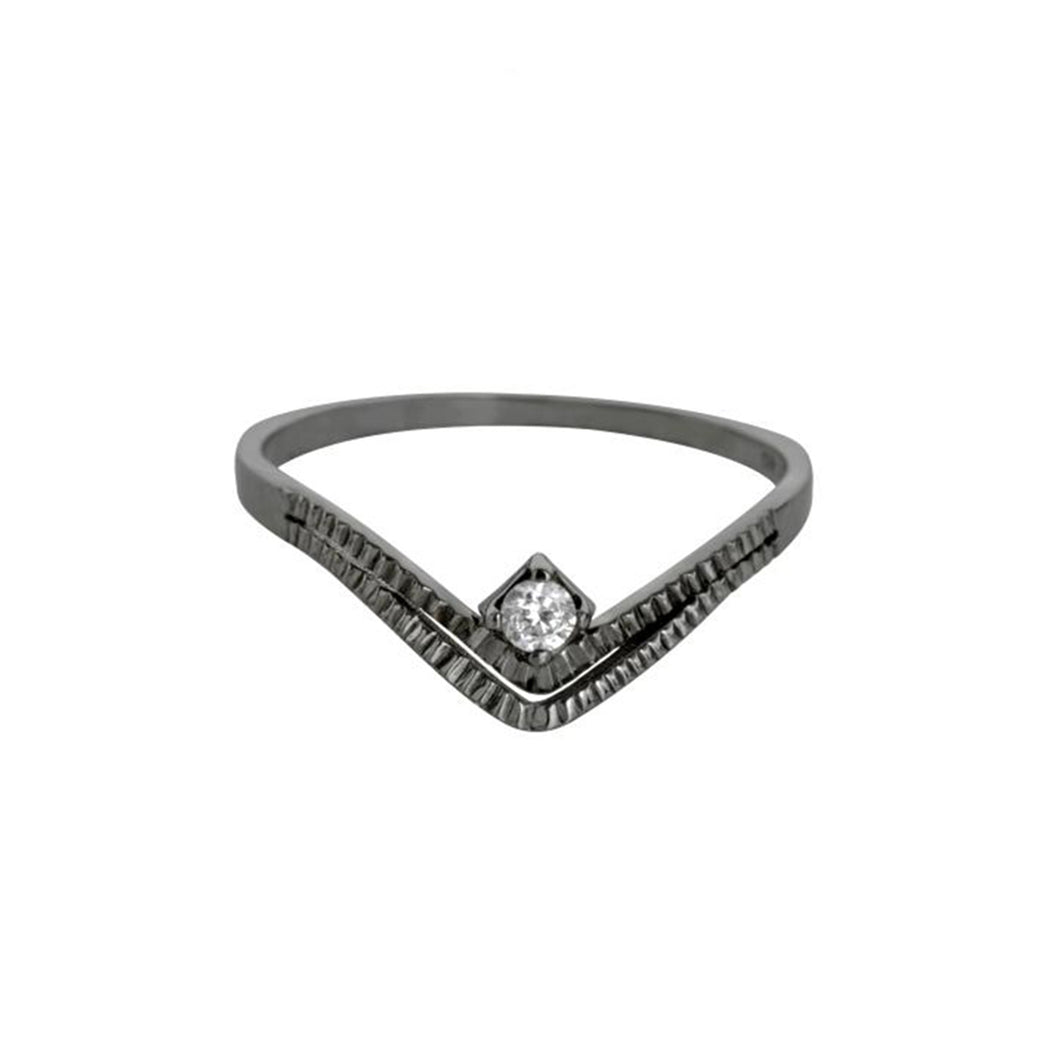 Zarrin Black Ring