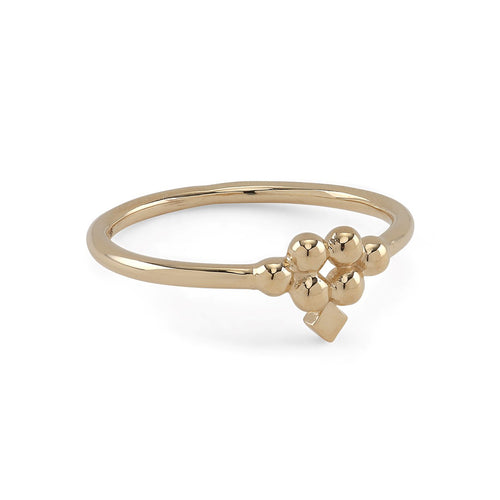 Lady Arrow Gold Ring (14-karat) danish design scandinavian design scandic design nordic design arabic design gold tiara Silver guld ring gold chain smykker smykke gold guld halskæde guld ringe ring Gold (14-karat)