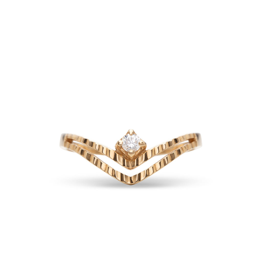 Zarrin Gold Ring