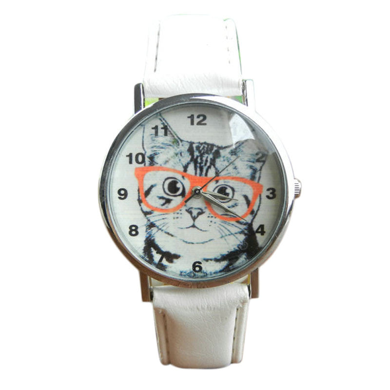 Cat Analog Watch