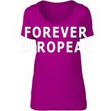 Forever European - scoop neck tee