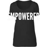 Empowered - scoop neck tee