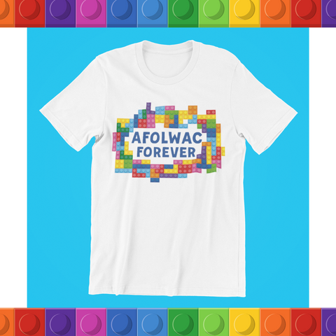 "Relax With Lego ""AFOLWAC Forever"" - unisex tee"