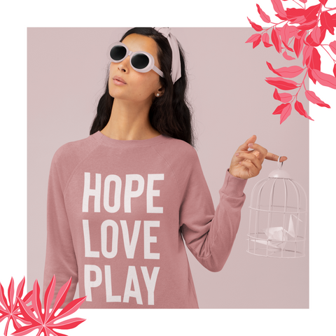 Hope Love Play - sweatshirt