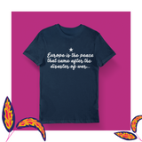 Europe is the peace... - women's tee