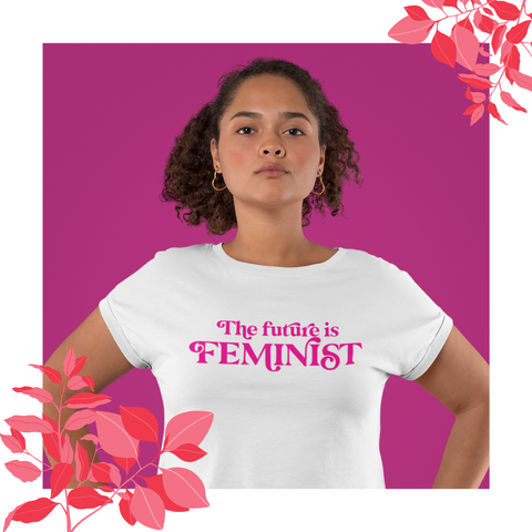 The future is feminist - women's tee