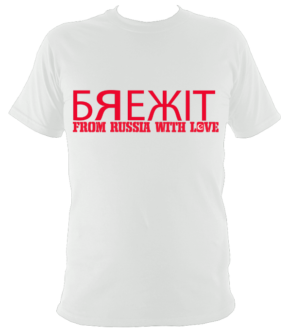 From Russia With Love unisex tee