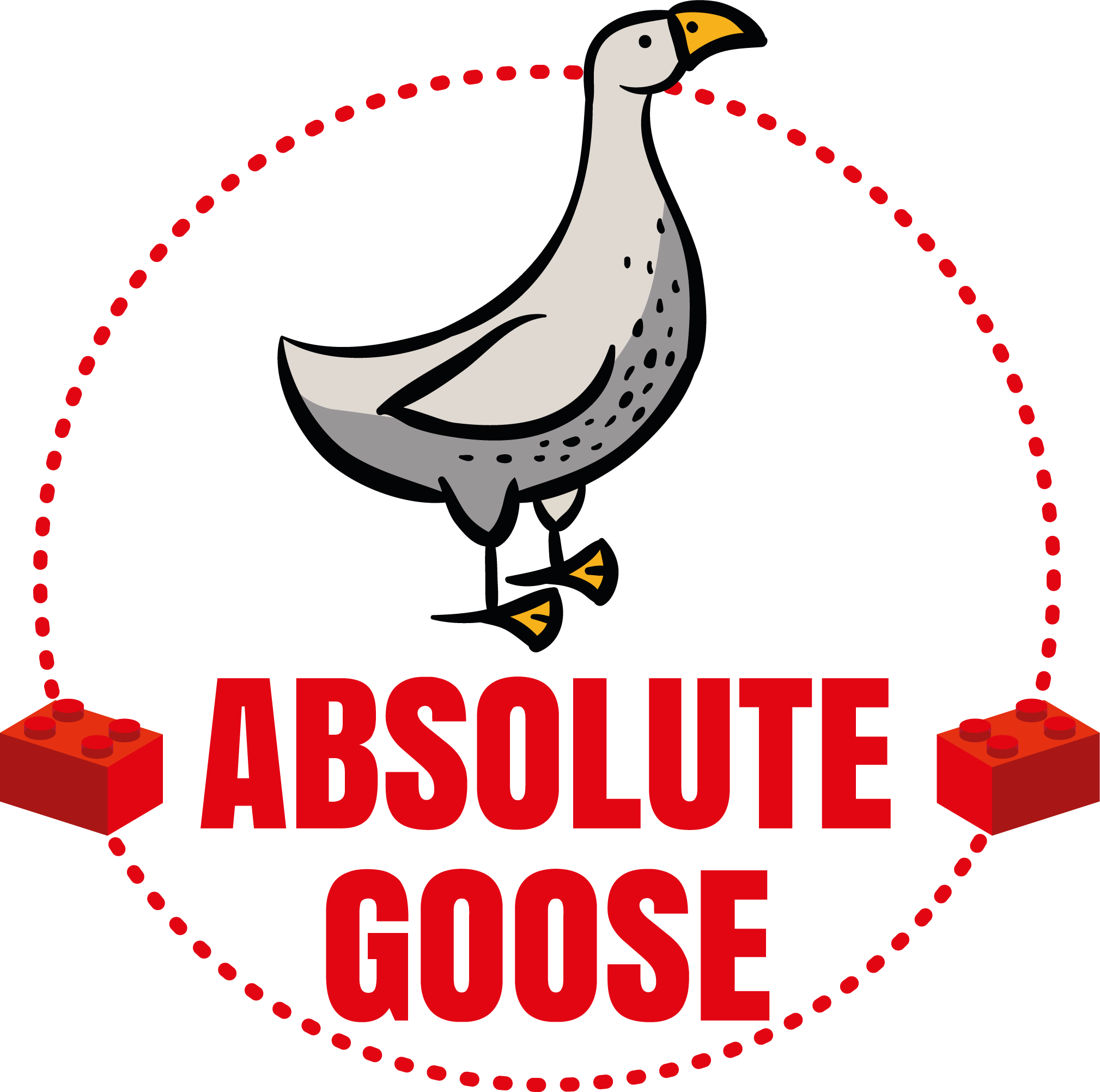 "Relax With Lego ""Absolute Goose"" unisex tee"