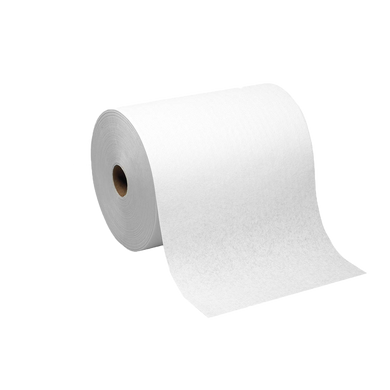 Manual Hand Towel Roll - White