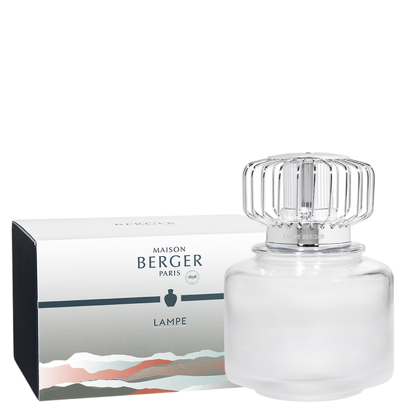 Frosty white Land Lampe Berger Gift Pack