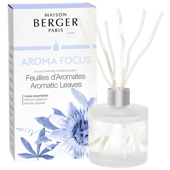 Maison Berger AROMA Focus -  Aromatic Leaves Scented Diffuser