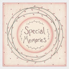 East of India - Large pink striped box - Special Memories - 1477