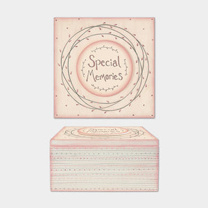 East of India - Large pink striped box - Special Memories