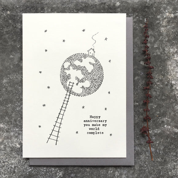East of India - Out of this world Card | Anniversary 2584B