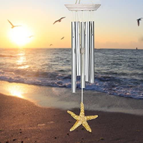 Woodstock Chimes SST Seashore Chime, Sea Star