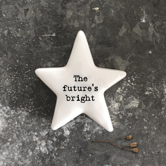 East of India - White Star Pebble 'The future's bright' - 6764