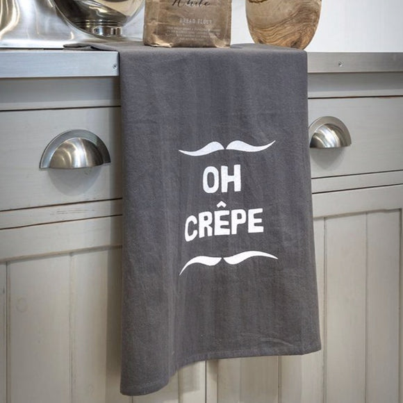 Retreat-home Tea Towel 'Oh Crepe'  16SS37