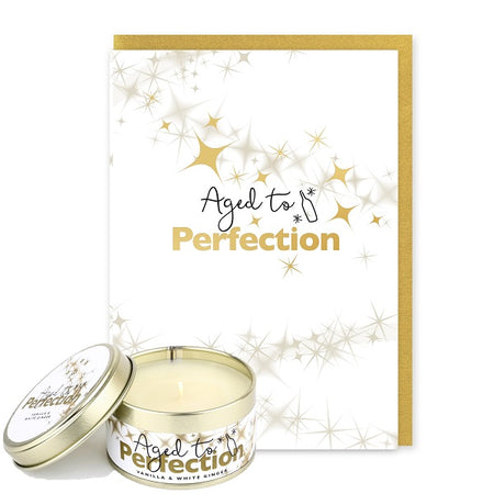 Pintail Occasion Candle & Greeting Card - Aged to Perfection