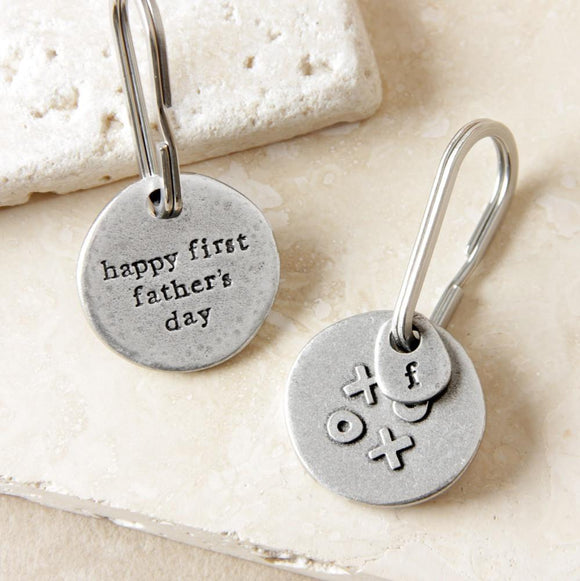 Kutuu - 'Happy first fathers day' Keyring