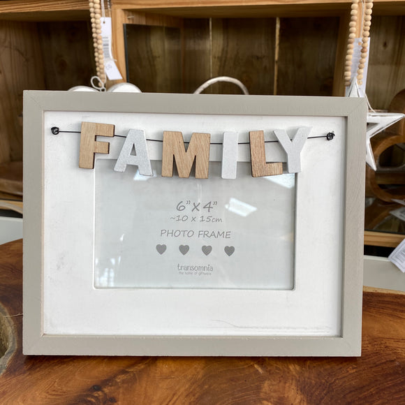 Family 6x4 Photo Frame