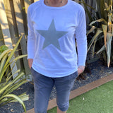 CHALK-TASHA-TOP-GREY-STAR