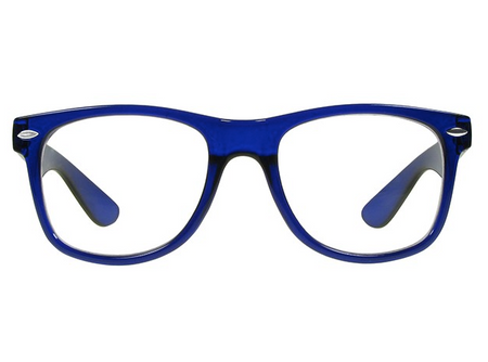Goodlookers Reading Glasses - GL2219 'BILLI BIG' BLUE